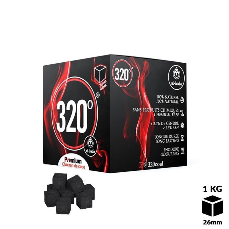 CHARBONS EL BADIA 320 CUBES 1 kg